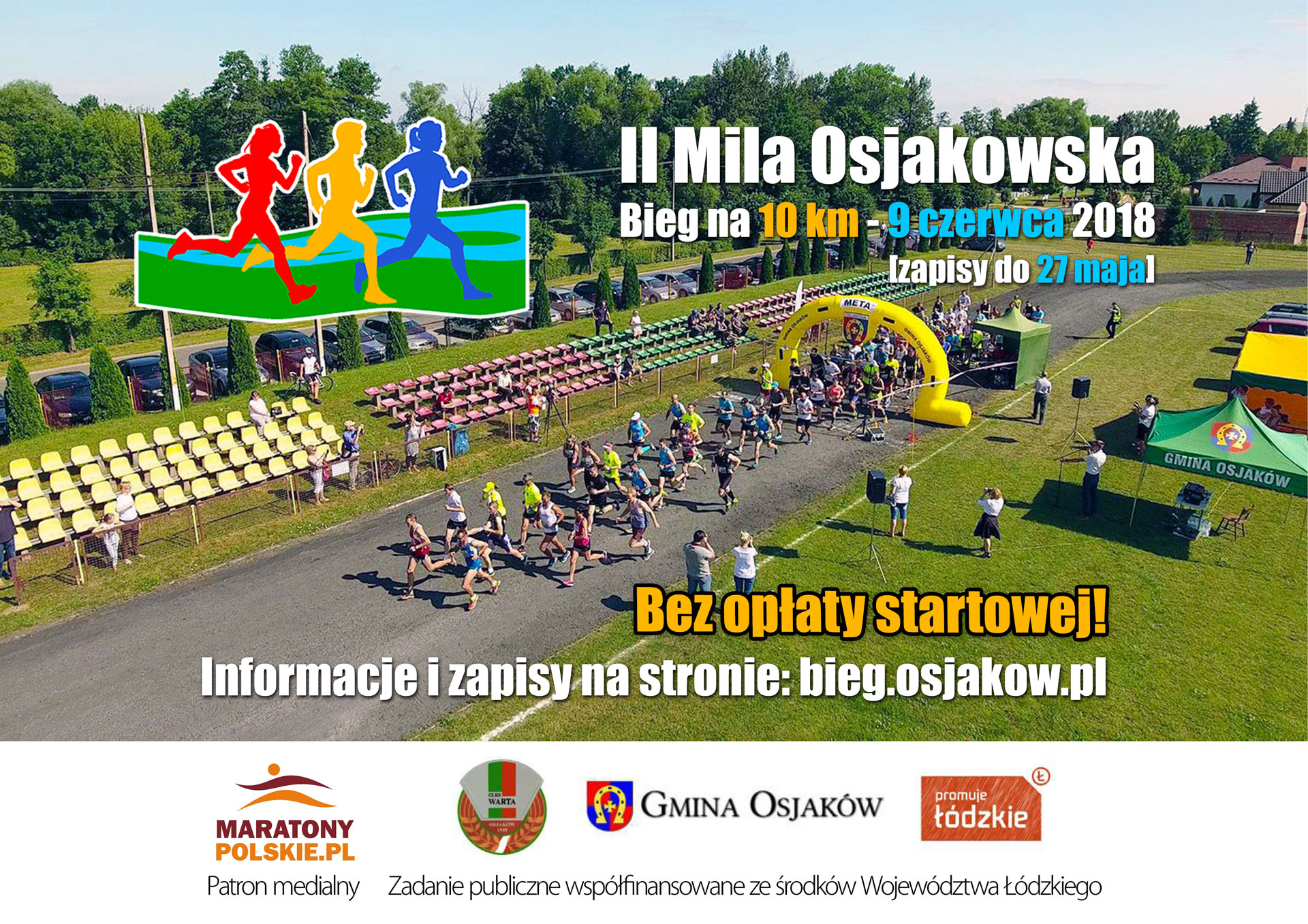 2018 04 17 mila osjakowska 10 km - II Mila Osjakowska - bieg uliczny na10 km