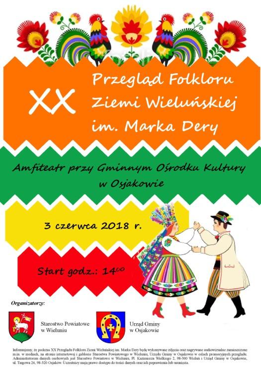 2018 05 21 folklor - Przegląd Folkloru Ziemi Wieluńskiej