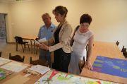 Konkurs plastyczny - Komisja Konkursowa podczas oceny prac