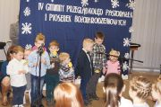 IV Gminny Przegląd Kolęd Pastorałek i Piosenek Bożonarodzeniowych - 18.01.2015