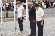 Uroczystość upamiętniająca 73 rocznicę wybuchu II wojny światowej - 3.09.2012