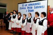 Jubileusz 35-lecia działalności Zespołu Pieśni Ludowej z Dębiny